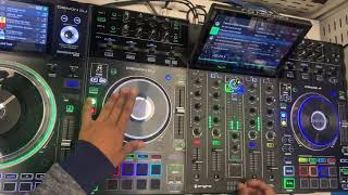 DENON DJ PRIME 4 | SERATO DJ PRO SCRATCH SAMPLE | PART 1 | MAGIC MALLY