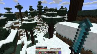 Minecraft HG Mod - Episode 3|Part 1 - Snow Forest