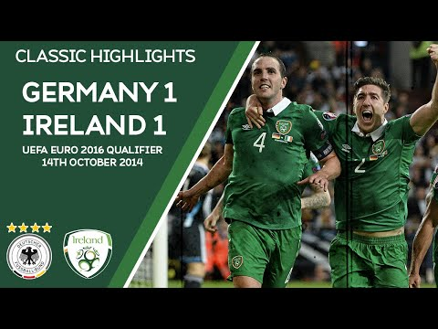 CLASSIC HIGHLIGHTS | Germany 1-1 Ireland - UEFA EURO 2016 Qualifier