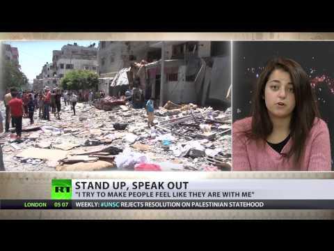 #Heroes2014: Farah Baker - Gaza teen tweeting of everyday survival in warzone