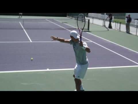 Juergen Melzer practice vid Video