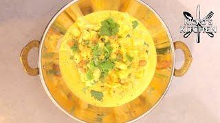 Coconut & Cauliflower Curry | Vegetarian Recipe | Low Carb Recipe