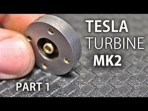 Micro Tesla Turbine Mk2   Part 1   The Rotor