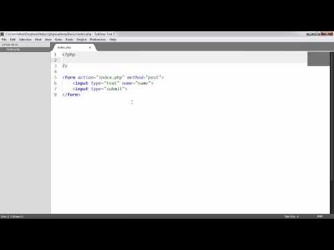 Learn PHP: GET and POST