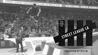 5 Trick Fix: Street League LA 2015 | TransWorld SKATEboarding