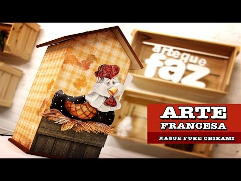 10 09 2014 - Porta Papel Toalha (kazue Fuke Chikami) video