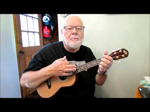 A POWERFUL STRUM PATTERN in 34 time - Taught by UKULELE MIKE LYNCH