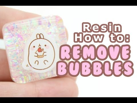 HOW TO - No Bubble Resin 6-21-14