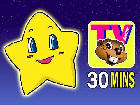 Twinkle Twinkle Little Star | Busy Beavers Tv Show, Season 1 Ep. 4 | Kids Nursery Rhymes, Baby Songs video