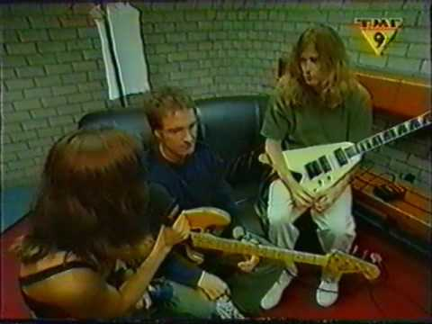 Megadeth / Iron Maiden - Backstage Ed Hunter Tour 1999