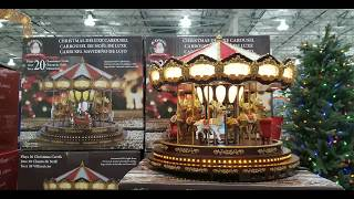 Costco! Animated Christmas Deluxe Carousel! $149!