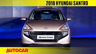 2018 Hyundai Santro | Walkaround and First Look | Autocar India