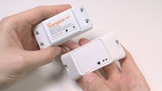 SONOFF BASICRFR3 - WiFi-реле с режимом DIY