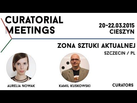 Curatorial Meetings / Zona Sztuki Aktualnej 03 // PL