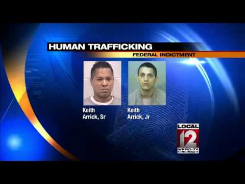 Father, son arrested on federal human trafficking charges