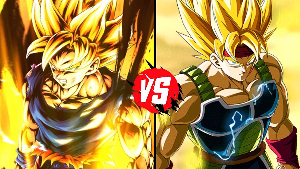 Dragonball Z: What If Story: Goku Vs Bardock *Raging Blast ...