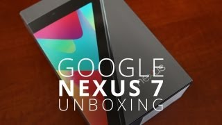 Nexus 7 Unboxing! The New Tablet King?