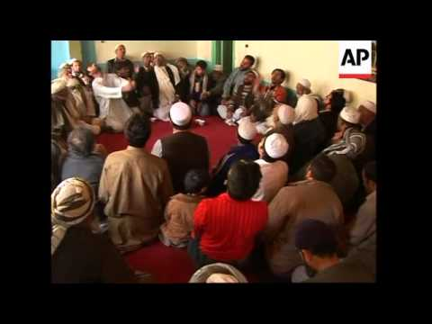 With the fall of the Taliban regime Sufis are once again free to worship