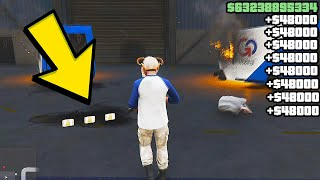 GTA Online - How To Rank Up and Make Money FAST *Solo* GTA 5 Online RP Methods