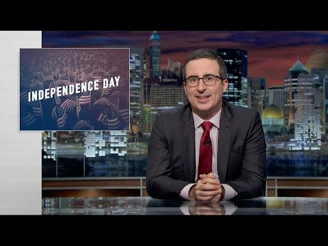Last Week Tonight with John Oliver: Independence Day (Web Exclusive)