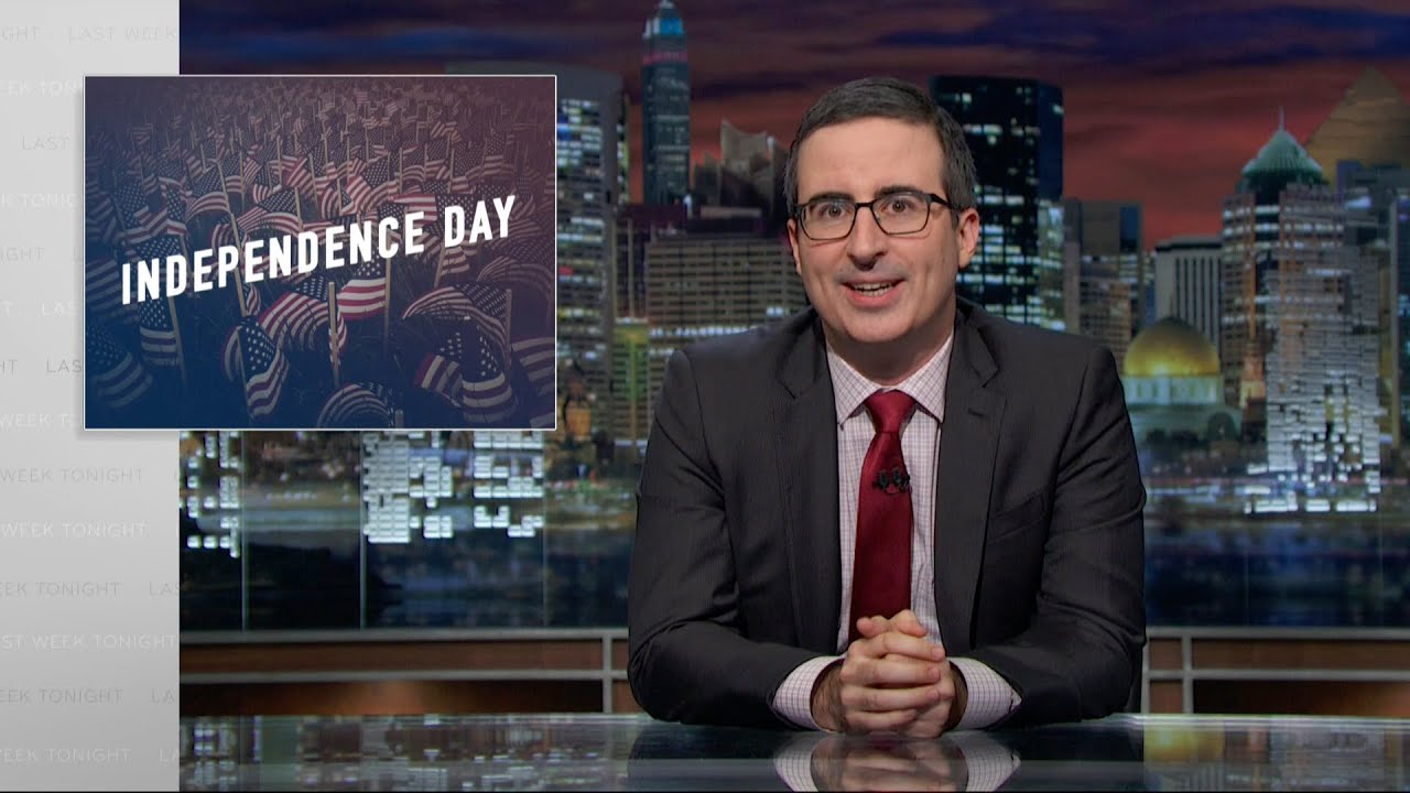 John Oliver Tells Americans What They Missed Out By Gaining Independence