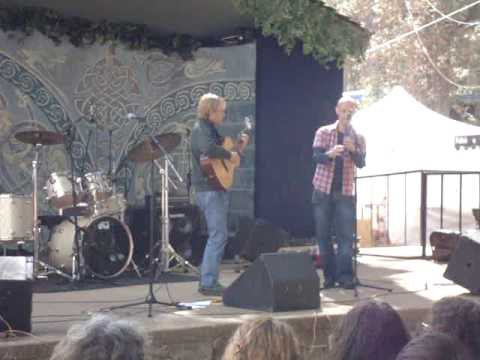 Finnegan & Coulter, KVMR Celtic Festival 2009, Pine Tree Stage