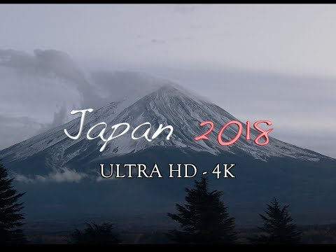 Japan 2018 - | 4K | Drone | Tokyo-Kyoto-Mt.Fuji-Osaka-Nagoya| DJI Mavic|