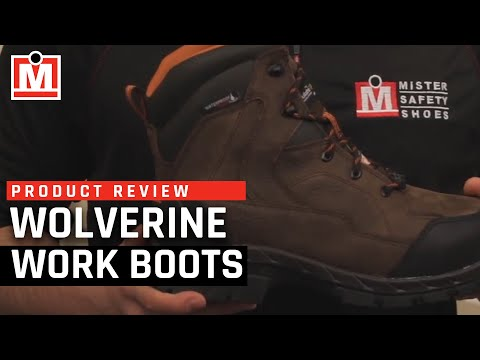 Product Review: Wolverine Glacier CSA Work Boot