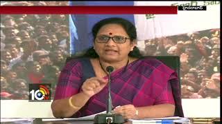 YCP Leader Vasireddy Padma On America Sex Racket | CM Chandrababu | Hyderabad