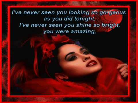 Chris De Burgh - Lady in Red * Lyrics
