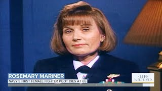 Navy's First Female Fighter Pilot Dies at 65, Captain Rosemary Mariner