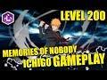 Bleach Brave Souls ICHIGO MOVIE VERSION 6 STAR LEVEL 200 GAMEPLAY