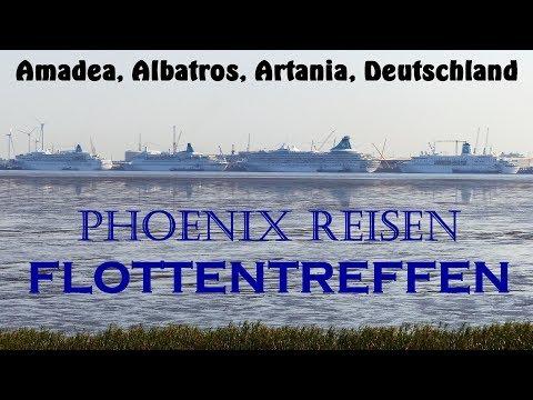 Phoenix Reisen FLOTTENTREFFEN 2018 in Bremerhaven