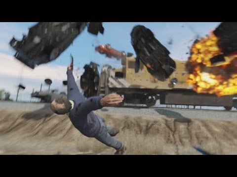 GTA V - The Indestructible Train