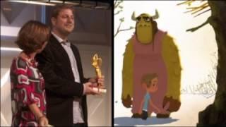 پسر کوچک و جانور برنده جایزه کارتون طلایی