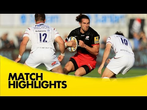 Saracens Vs London Irish - Aviva Premiership 2015/16