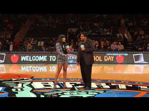 AngelaIamTV: Angela Simmons @ Madison Square Garden