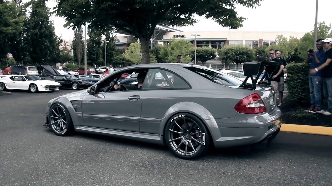 Monster Mercedes Clk63 Amg Black Series Acceleration Youtube
