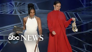 Tiffany Haddish steals the show at 2018 Oscars