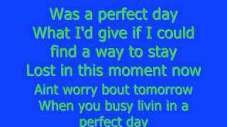 Watch Lady Antebellum Perfect Day video