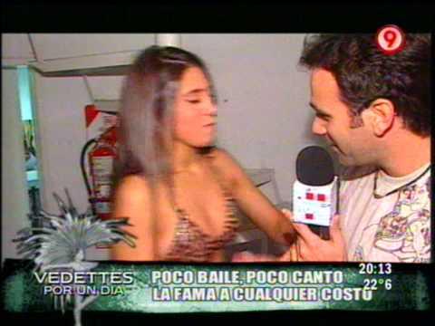 Cinthia Fernandez Luciendo su Cola en Tanga de Leopardo
