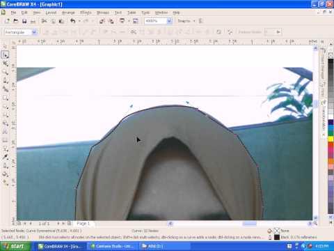 tutorial coreldraw 4 : merubah background