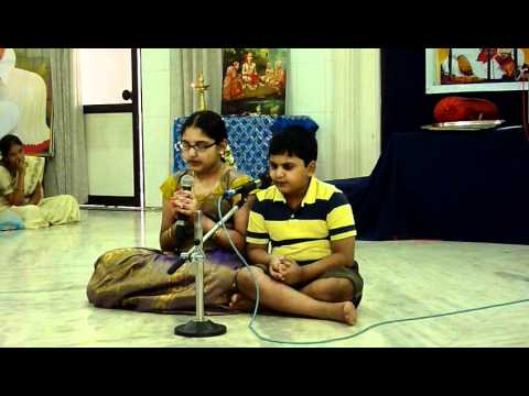 Sowmya And Siddharth Karra - Recital Of Soundarya Lahari, Shivananda Lahari video