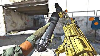 Call of Duty Modern Warfare - 93 KILLS Gold Camo Multiplayer Gameplay (Headquarters)