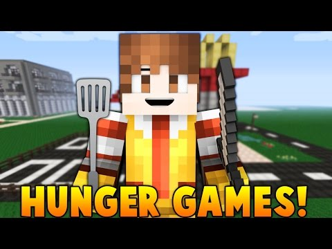 "Minecraft: ""WORKING AT MCDONALDS!"" Hunger Games w/Bajan Canadian! Game 711"