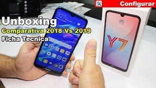 Huawei Y7 2019 Español Unboxing Características y especificaciones