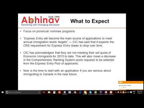 Canada PR Low Score ? - Explore PNP | Abhinav Outsourcings