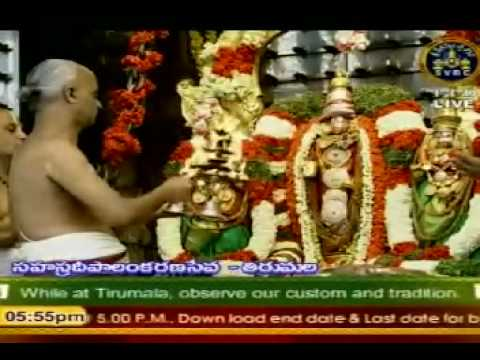 Srivari Mangala Aarathi video