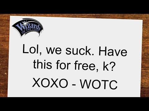 Wizards Sends Apology + Borderless Cards From Mystery Product To GRN Mythic Buyers