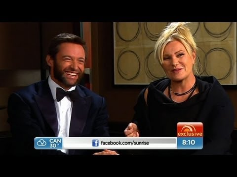 Sunrise - Hugh Jackman exclusive interview